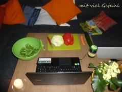 21. Salat schnippeln