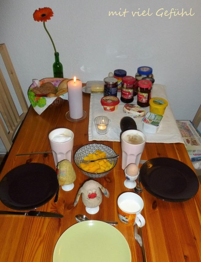 1. Frühstück