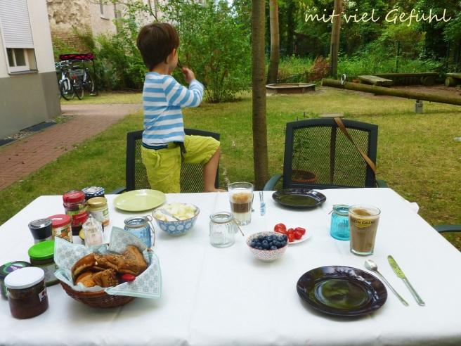 14. Frühstück